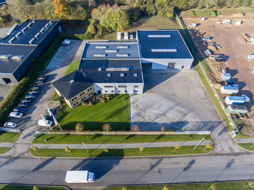Luftfoto til firmaprofil