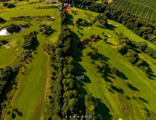 Luftfoto af Golfbane