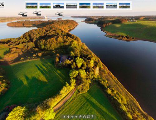 360º Luftfoto Houens odde
